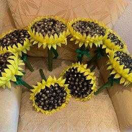 Цветы, букеты, композиции - Сладкие букеты подсолнух, 0