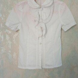Рубашки и блузы - Белая детская рубашка блузка с фонариками, 0