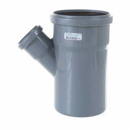 Канализационные трубы и фитинги - Тройник для внутренней канализации LAMMIN Lm35091105045, 0