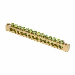 Для цепных пил - Шина PEN «ноль-земля» 8х12 14 отвер. латунь крепеж по краям PROxima EKF sn0-125-, 0