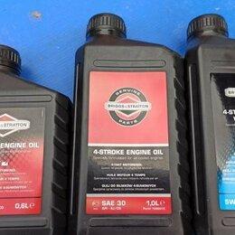 Масла, технические жидкости и химия - Briggs & Stratton Масло четырехтактное 5W30 SL/CF 1л 12шт/кор Briggs&Stratton, 0