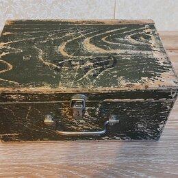 Сундуки - Деревянный кейс, 0