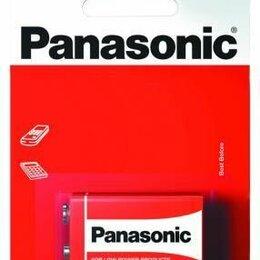 Батарейки - Элемент питания Panasonic Zinc Carbon 6F22 BL1 (Крона), 0