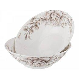 Блюда, салатники и соусники - Набор салатников Lefard White flower 16см 2шт белый,фарфор, 0