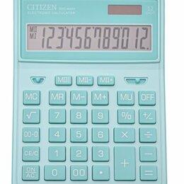 Калькуляторы - CITIZEN Калькулятор настольный CITIZEN SDC444XRGNE, 12 разрядов, двойное пита..., 0