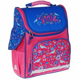Рюкзаки, ранцы, сумки - Ранец ArtSpace Junior  Spring, 37*28*21см, 1 отд., 3 карм., анатом.спинка, 0