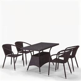 Кресла и стулья - Комплект мебели «Кост из искусственного ротанга [а-2»], 0