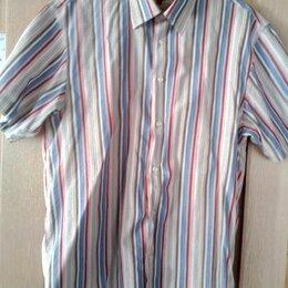 Рубашки - Рубашка мужская с коротким рукавом 48-50 (L), 0