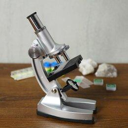 """Военные вещи - Микроскоп """"Лаборатория"""", кратность увеличения 450х, 200х, 100х, набор для исс..., 0"""