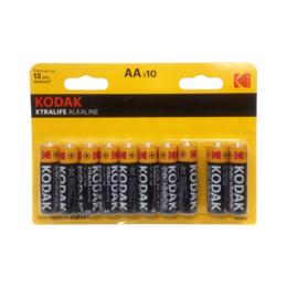 Аксессуары и запчасти для оргтехники - Батарейка Kodak LR6-8+2BL XTRALIFE  10шт в уп-ке, 0