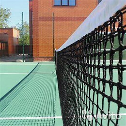 Аксессуары - Сетка для большого тенниса новая теннисная 1,07х12, 0