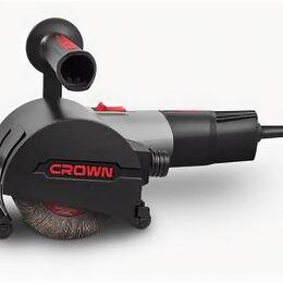 Шлифовальные машины - Щеточная шлифовальная машина CROWN CT13551-110RSV, 0