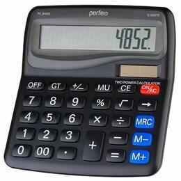 Калькуляторы - Бухгалтерский калькулятор Perfeo PF B4852 30014867, 0