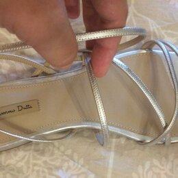 Босоножки - Массимо Дутти босоножки серебряные обувь, 0