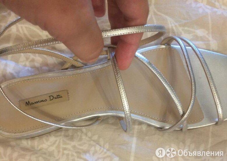 Массимо Дутти босоножки серебряные обувь по цене 3500₽ - Босоножки, фото 0