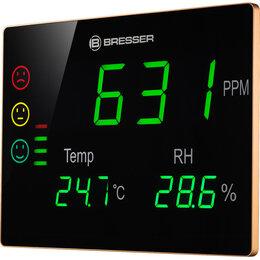 Метеостанции, термометры, барометры - Гигрометр Bresser Air Quality Smile XXL с датчиком CO2, 0