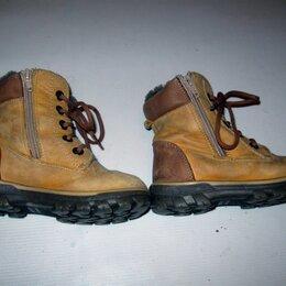 Ботинки - Зимние с мехом ботинки Котофей б\у р.25-26, 0