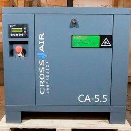 Производственно-техническое оборудование - Винтовой компрессор 5.5 кВт 600 л/мин, 0