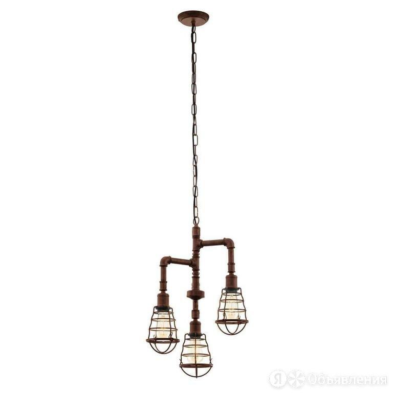Подвесная люстра Eglo Port Seton 49808 по цене 10990₽ - Люстры и потолочные светильники, фото 0