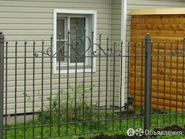 Забор из сварных секций по цене 1500₽ - Металлопрокат, фото 0
