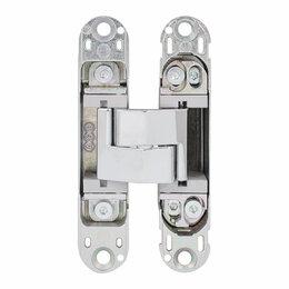 Петли дверные - Петля дверная AGB E30200.02.06 ECLIPSE 3.0 никель (4 накладки в комплекте), 0
