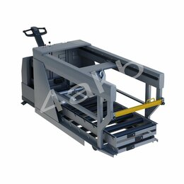 Оборудование для транспортировки - Автоматическая раздвижная тележка для перевозки аккумуляторных батарей, 0