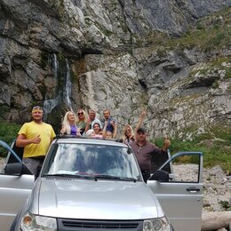 Экскурсии и туристические услуги - Джип-тур Абхазия Зимняя сказка, 0