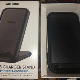 Зарядные устройства и адаптеры - Бзу samsung wireless charger ep-n5200 черное, 0