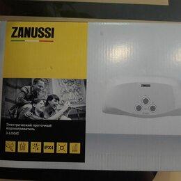 Водонагреватели - Проточный электрический водонагреватель Zanussi 3-logic 5,5 ts, 0