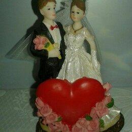 Свадебные украшения - Статуэтка (Португалия) на свадебный торт (новая), 0