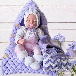 Комбинезоны - Вязаный комбинезон для новорожденных , 0