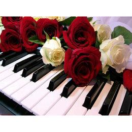Прочие комплектующие - Розы на клавишах Артикул : GX 24565, 0
