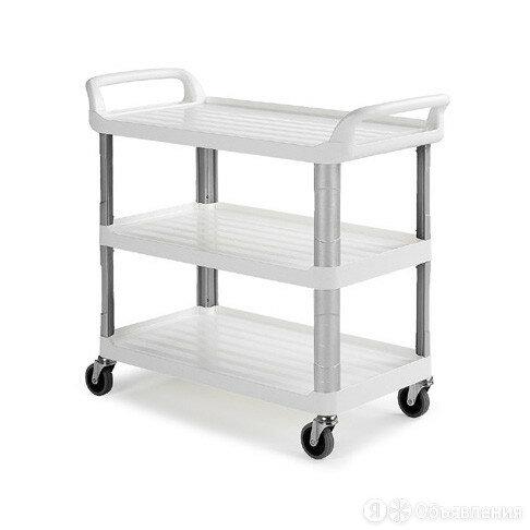 Гостиничная тележка Shelf, TTS c тремя полками, белая по цене 22870₽ - Тумбы, фото 0