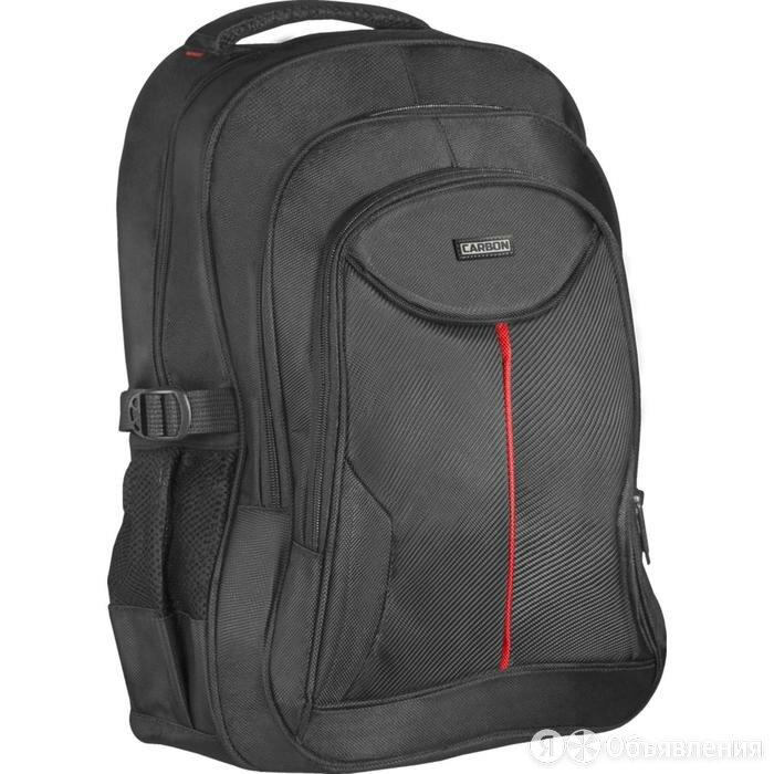 Сумка-рюкзак для ноутбука Defender Carbon 15.6', полиэстер, черный, органайзе... по цене 1835₽ - Дорожные и спортивные сумки, фото 0