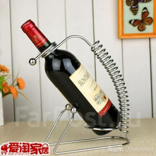 """Подставка для бутылки """"Пружина"""". по цене 270₽ - Подставки и держатели, фото 0"""