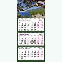 Календари - Квартальный календарь 2022г. Байкальский вид 13с14-197 Полином /20, 0