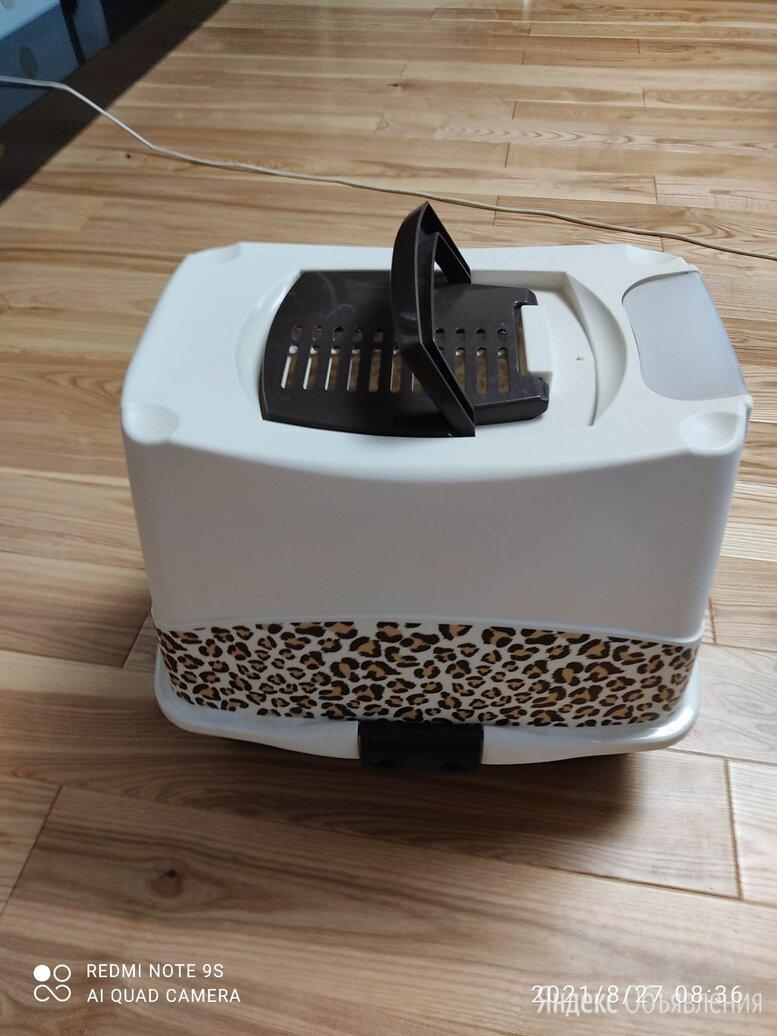 Туалет-домик trendy cat с угольным фильтром и совком 57х45х43 люкс по цене 1000₽ - Туалеты и аксессуары , фото 0