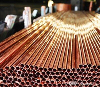 """Труба медная 3-5/8"""" ASTM B280 по цене 490₽ - Металлопрокат, фото 0"""