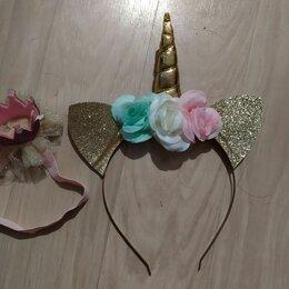 Украшения для девочек - Ободок украшение для единорога, 0