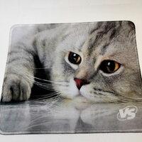 Прочие аксессуары - Коврик для мыши VS Cat Img 2, ткань, резина, 220x180 мм, 0