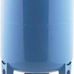 Расширительные баки и комплектующие - Гидроаккумулятор ДЖИЛЕКС 100 В вертикальный, с пластиковым фланцем [7106], 0