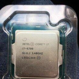 Процессоры (CPU) - Intel core I7 6700 socket 1151, 0