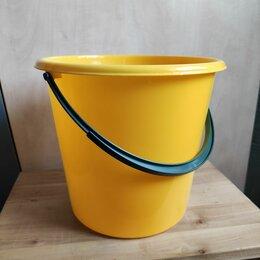 Ведра и тазы - Ведро для уборки, пластмассовое, 5л, 0