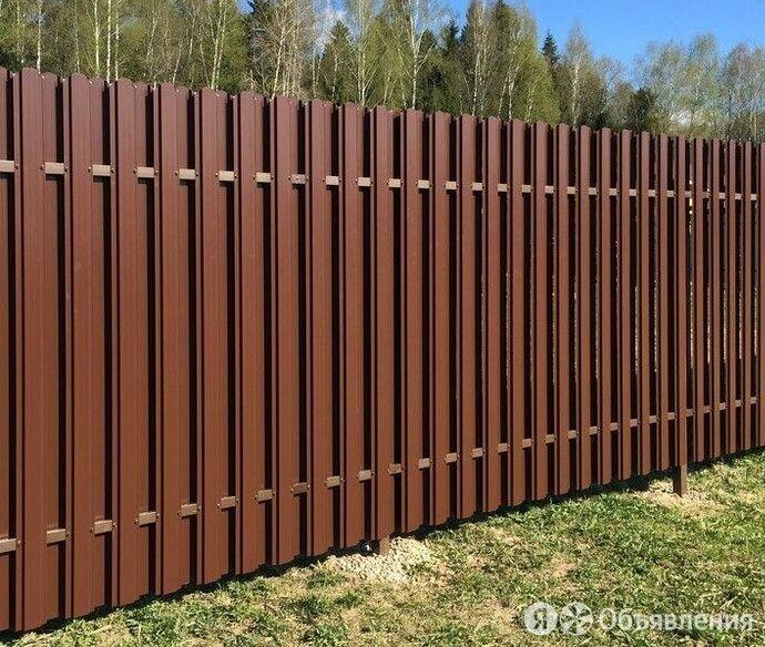 Забор из профлиста, рабицы и 3D сетки. Навесы по цене 350₽ - Заборы, ворота и элементы, фото 0