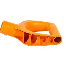 Лопаты - РУЧКА для лопаты снеговой, D-образная УСИЛЕННАЯ, пластик, для черенка d-32мм,..., 0