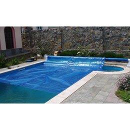 Тенты и подстилки - Плавающее пузырьковое покрывало для бассейна (400х200см), 0