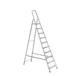 Лестницы и стремянки - Стремянка алюминиевая 10 ступеней, 0
