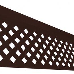 Заборчики, сетки и бордюрные ленты - GRANDLINE Полотно декоративное 360х2500 RAL 8017, 0
