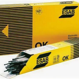 Электроды, проволока, прутки - ЭСАБ Электроды УОНИ-13/55  -  4 мм.  (упаковка -6 кг.) ЭСАБ, 0
