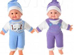 Куклы и пупсы -  Пупс мягкое тело, звук, 30см, пластик,…, 0